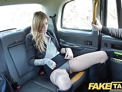 Fake Taxi Busty brunette gets her arse stretched deep anal