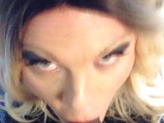 CD McKenzie sucks and takes cum on her face