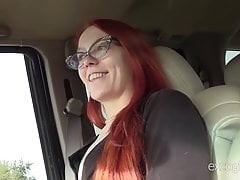 Skinny Redhead Amateur Loves To Cum