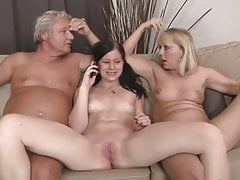 SBA A Threesome Her Boyfriends Parents !
