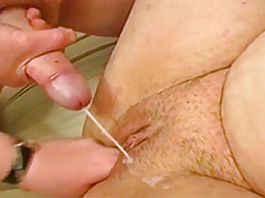 Cumming over a fingered pussy
