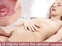 18 y.o Zhopka Sladkaya will lose her virginity now!