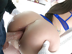 TRUE ANAL Gia Paige back for yet another ass pounding