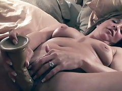 A Wife Loves Fucking and Swallowing Cum for the Camera