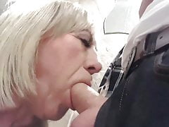 Trans Girl Pauline gets Face Fucked in the Club Toilets