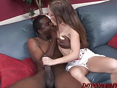 Kaylee Gets Big Chocolate Cock Pounding