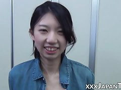 Japanese women treat you with closeup pussy shots