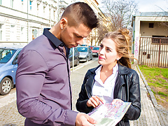 LETSDOEIT - Teen Tourist Silvia Dellai Seduced By Local Guy