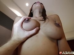ASIANSEXDIARY Busty Asian Babe Fucked Doggystyle