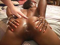 Petite Little Ebony Mama Got Butt Fucked