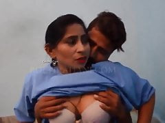 Desi Hospital Nurse Has Sex